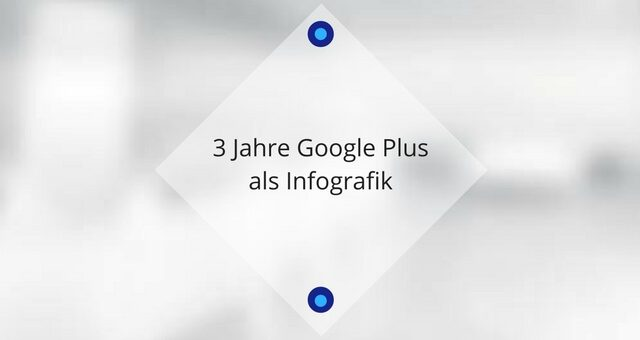 Happy Birthday Google+ – 3 Jahre Google Plus als Infografik