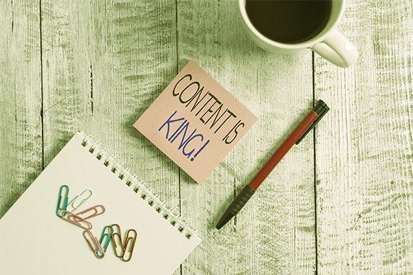 Content is King ist für Social Media Betreuung wichtig