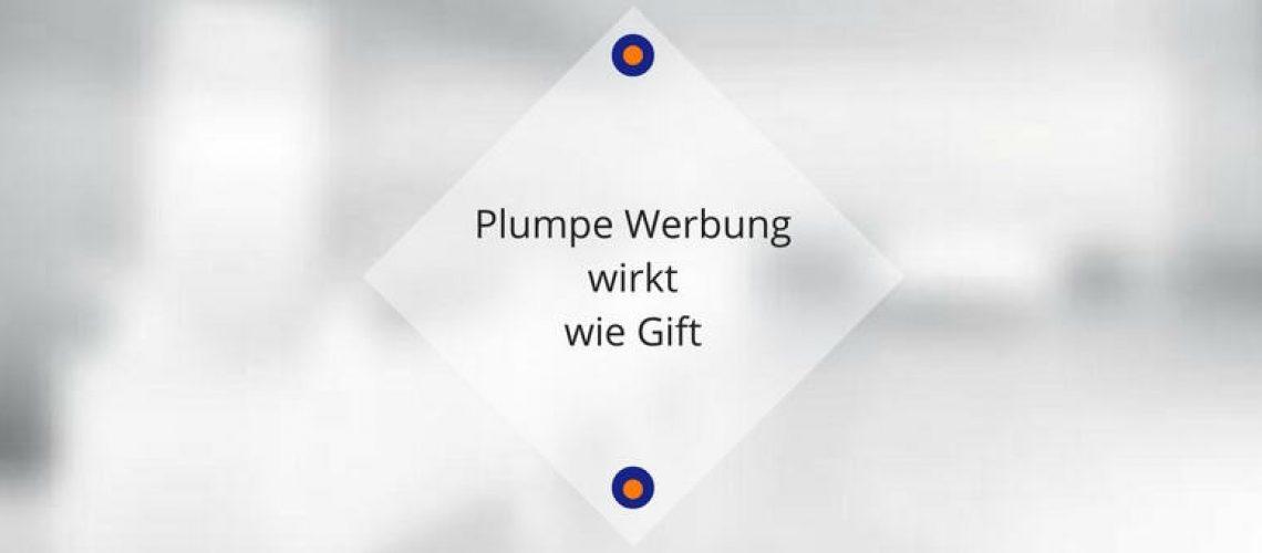 plumpe-werbung